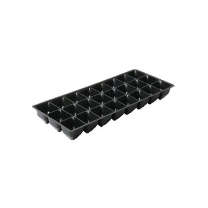 Sadbová doska do minipareniska  - 24 buniek - 1 ks - čierna farba