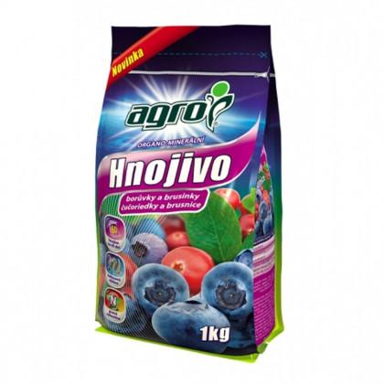 Organo-minerálne hnojivo na čučoriedky a brusnice - Agro - hnojivá - 1 kg